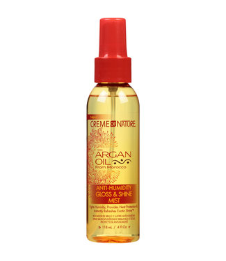 Creme Of Nature Argan Oil Anti-Humidity Gloss & Shine Mist 4oz