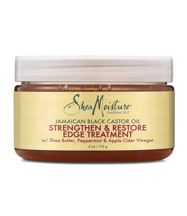 Shea Moisture Jamaican Black Castor Oil Strengthen & Restore Edge Treatment 4oz