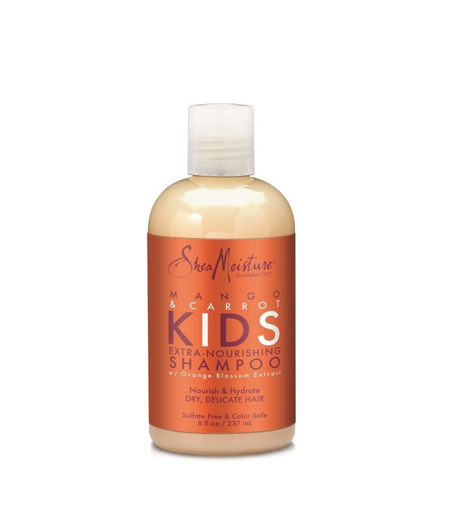 Shea Moisture Mango & Carrot Kids Extra-Nourishing Shampoo 8oz