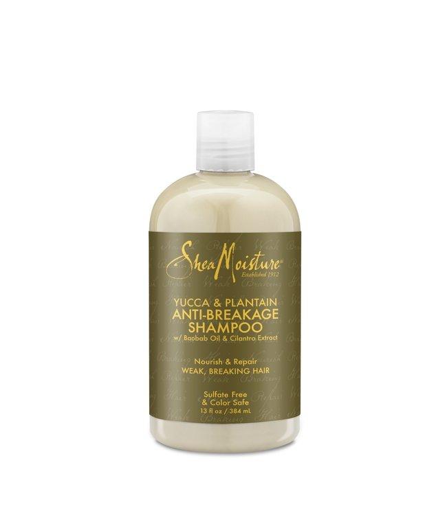 Shea Moisture Yucca & Plantain Anti-Breakage Shampoo 13oz