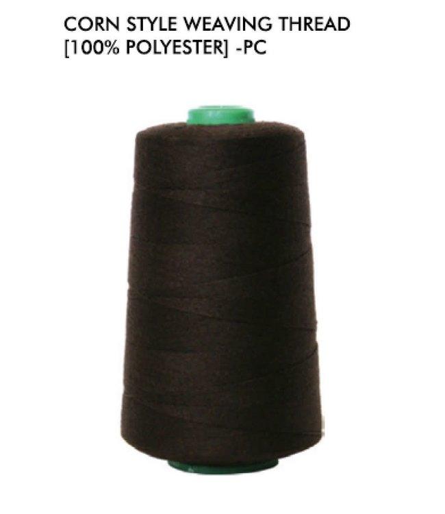 Magic Collection Corn Style Weaving Thread - Black #1425