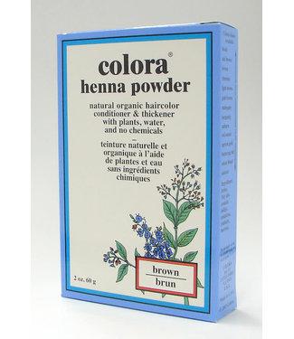 Colora Colora Henna Pwd Brown