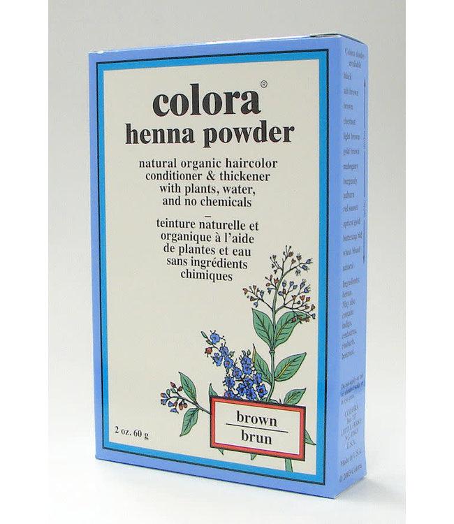 Colora Colora Henna Powder - Brown / Brun 2oz