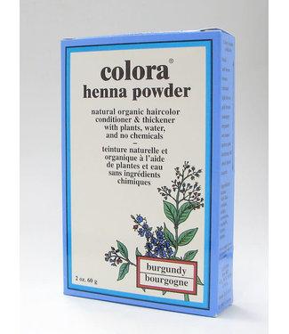 Colora Colora Henna Pwd Burgundy