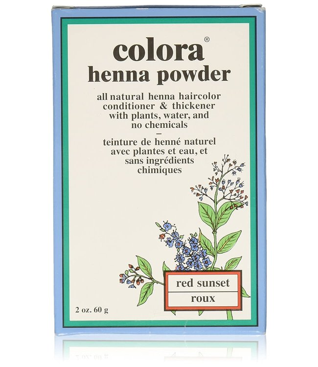 Colora Colora Henna Powder - Red Sunset / Roux 2oz