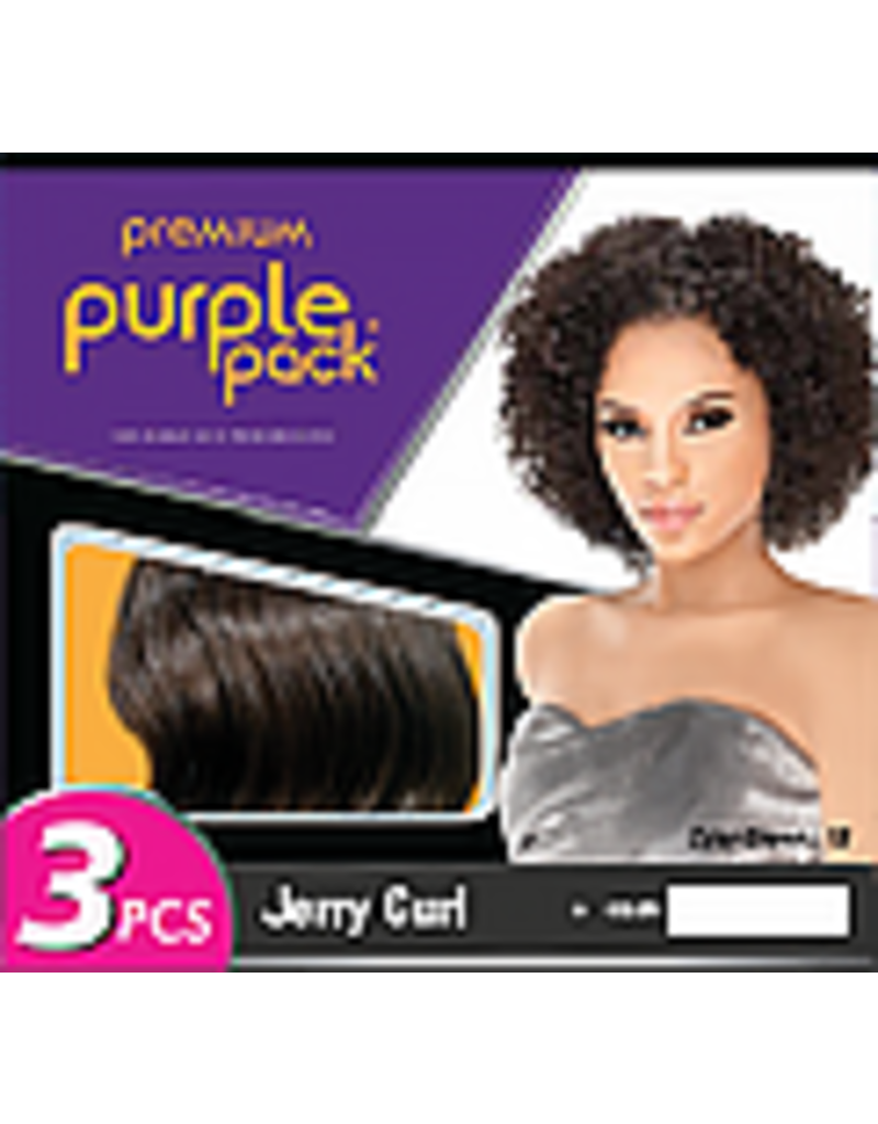 Purple Pack Jerry Curl - 3 pieces