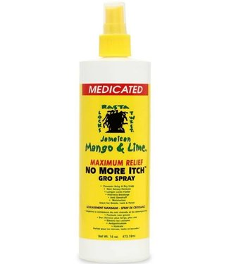 Jamaican Mango & Lime No More Itch Medicated Gro Spray 16oz