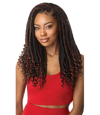 X-pression Straight Bahama Locs