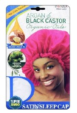 Donna Donna Argan & Castor Oils Sleep Cap - Super Jumbo (Assorted)