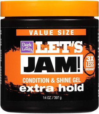 Let's Jam Condition & Shine Gel - Extra Hold 14oz