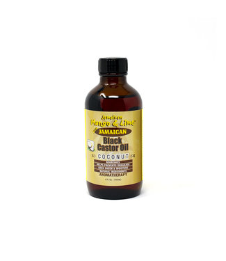 Jamaican Mango & Lime Black Castor Oil 4oz - Coconut