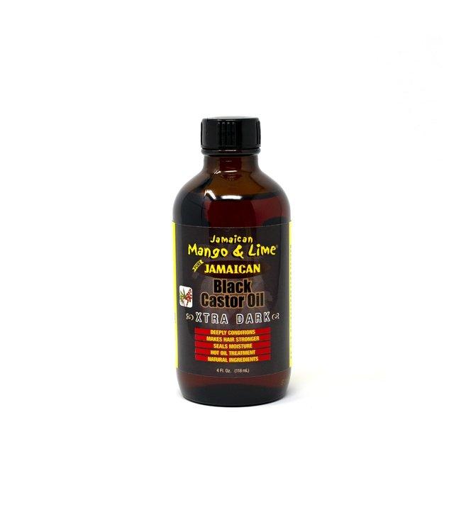 Jamaican Mango & Lime Black Castor Oil 4oz - Xtra Dark