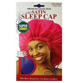 Donna Satin Sleep Cap - Super Jumbo