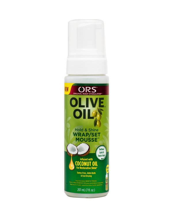 Organic Root ORS Olive Oil Wrap/Set Mousse 7oz
