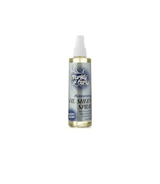 Worlds Of Curls Oil Sheen Spray  8oz