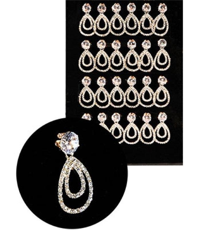 Earrings #ERJ98906 (1 pair)