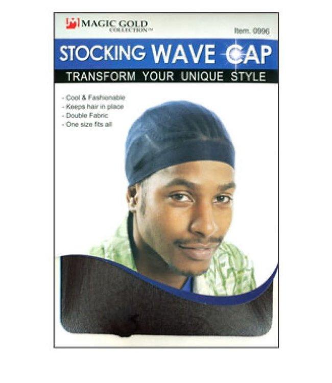 Magic Collection Stocking Wave Cap - Black