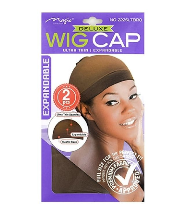 Magic Collection Wig Cap - Light Brown