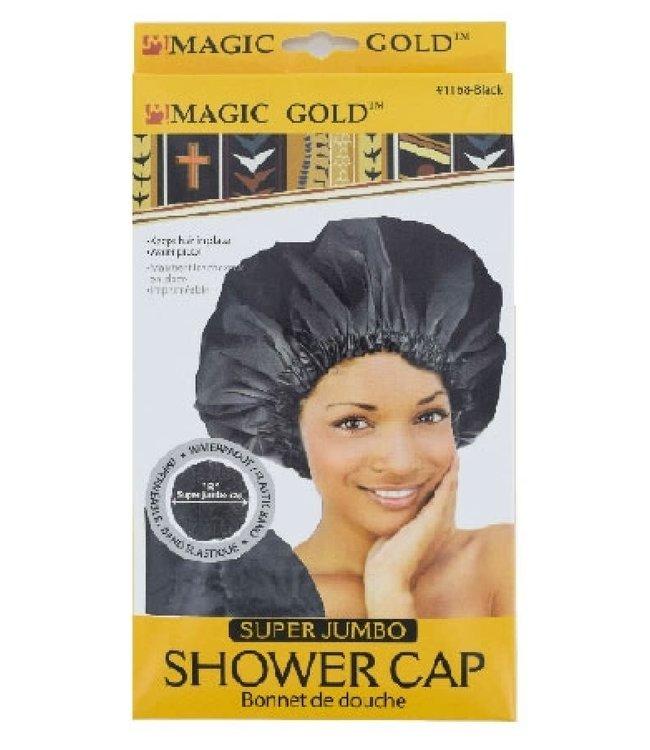 Magic Collection Super Jumbo Shower Cap - Black