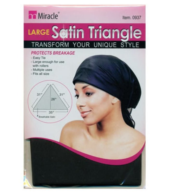 Magic Collection Large Satin Triangle