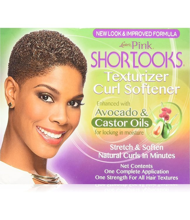 Luster's Lusters Pink Shortlooks Texturizer Curl Softener
