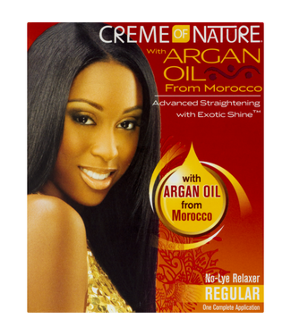 Creme Of Nature Argan Oil Relaxer Kit - Regular