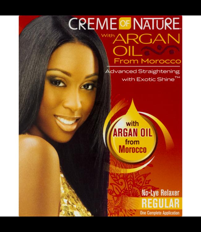 Creme Of Nature Argan Oil Relaxer Kit - Regular