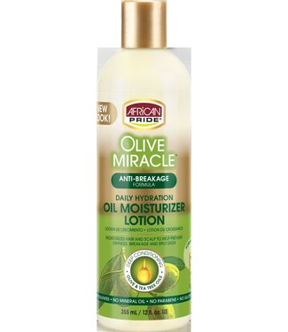 African Pride Olive Miracle Oil Moisturizer Lotion - Maximum Strength