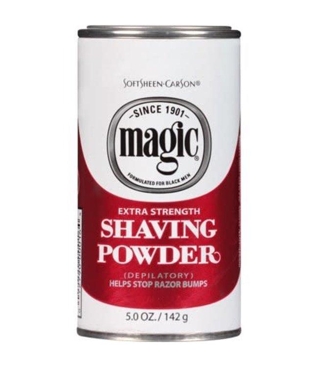 Magic Shave Shaving Powder - Extra Strength (Red) 4.5oz
