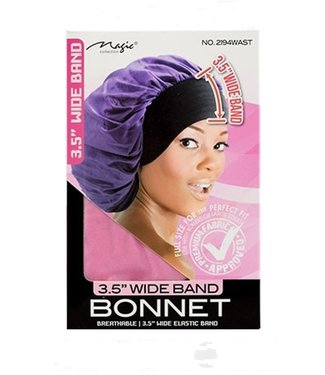 Magic Collection Wide Band Bonnet (assorted colors)