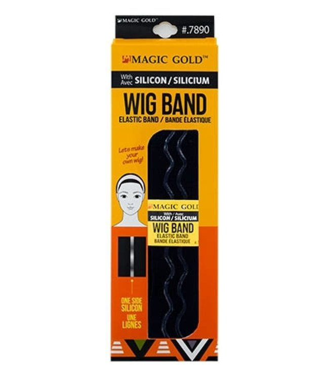 Magic Collection Silicon Elastic Wig Band