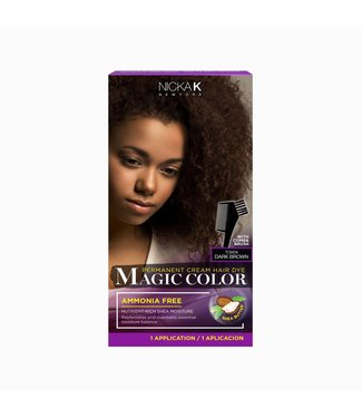 NICKA K Magic Color - Dark Brown