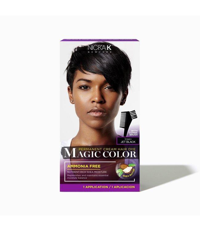 NICKA K Magic Color - Jet Black