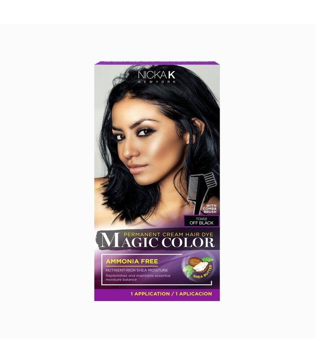NICKA K Magic Color - Off Black