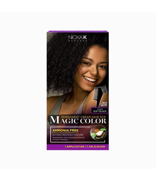 NICKA K Magic Color - Soft Black