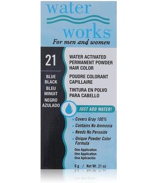 Water Works Blue Black #21