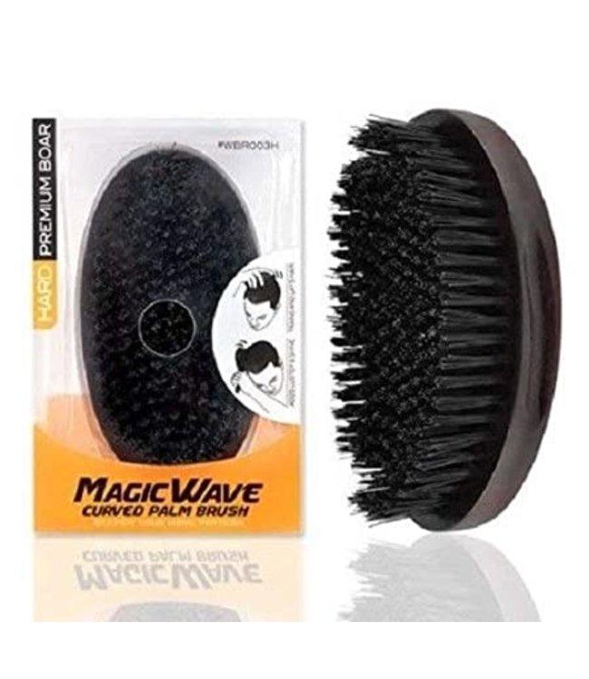 Black Ice Professional Magic Wave Curved Palm Brush