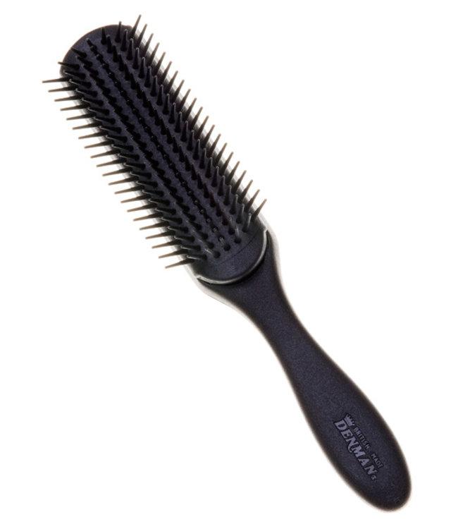 Denman Denman  7 Row Styling Brush Black