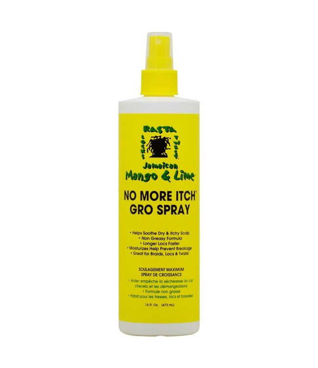 Jamaican Mango & Lime No More Itch Gro Spray 16oz