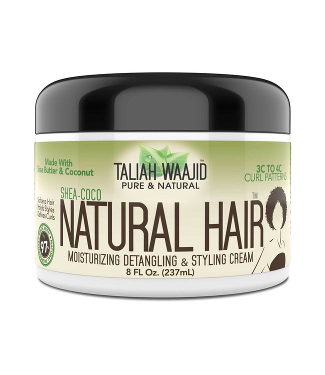Taliah Waajid Shea-Coco Natural Hair Moisturizing Detangling & Styling Cream 8oz
