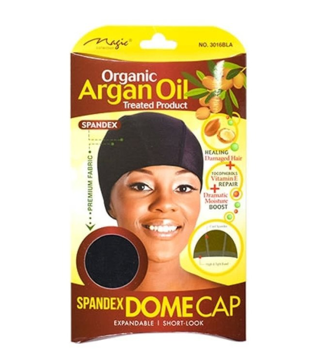 Magic Collection Argan Spandex Dome Cap 3016Black