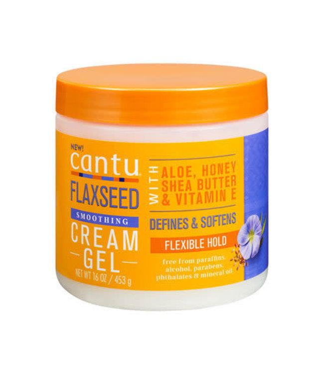 Cantu Flaxseed Smoothing Cream  Gel 160z