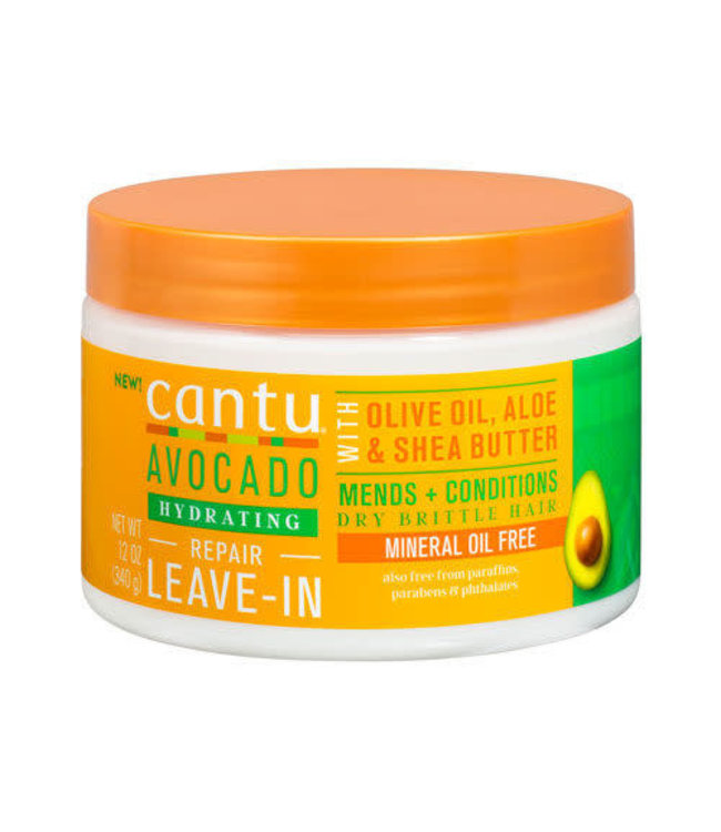 Cantu Avocado Hydrating Repair Leave-In Cream 12oz