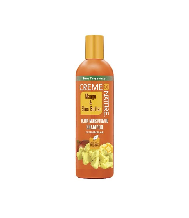 Creme Of Nature Mango & Shea Butter Ultra-Moisturizing Shampoo (12oz)