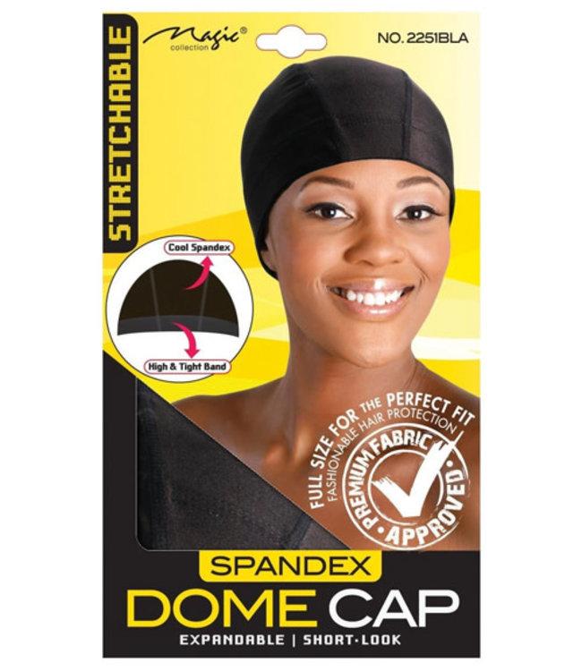 Magic Collection Spandex Dome Cap - Black (2251BLA)