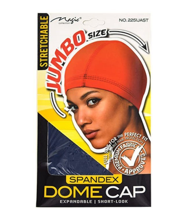 Magic Collection Spandex Dome Cap Jumbo - Couleurs Assortis (2251JAST)