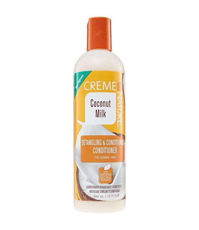 Creme Of Nature Coconut Milk Detangling  & Conditioning Conditioner 12oz