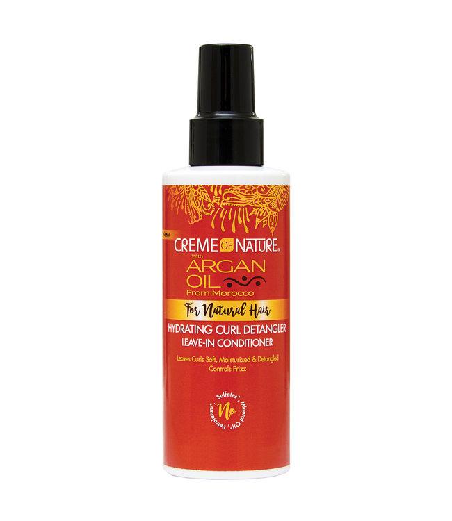 Creme Of Nature Argan Oil Hydrating Curl Detangler Leave-In Conditioner 5.1oz