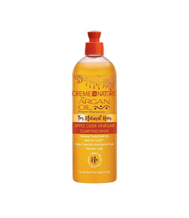 Creme Of Nature Argan Oil Apple Cider Vinegar Clarifying Rinse (12oz)