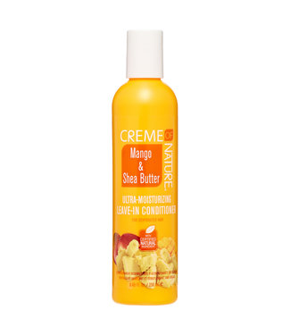 Creme Of Nature Mango & Shea Butter Ultra-Moisturizing Leave-In Conditioner (8oz)
